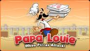 Papa Louie infobanner