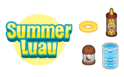 Summer luau pancake hd
