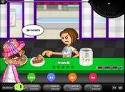 Mandi is angry