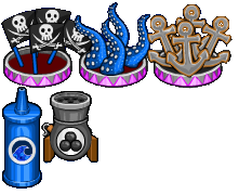 Pirate bash toppings