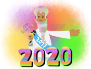 Happy New Year 2020 to Boopsy & Bill