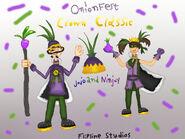 Onionfest Jojo and Ninjoy