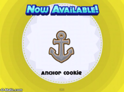 Papa's Cupcakeria - Anchor Cookie