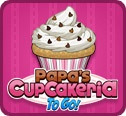 Papas cupcakeria to go arcade 2