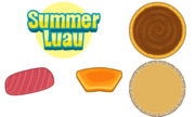 Pizzeria HD - Summer Luau Ingredients