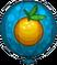 Tangerine Pop Balloon-1