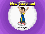 New Customer! Luis Angel