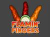 PWTG! Flamin' Fingers logo