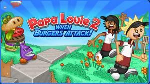Papa Louie 2 Logo