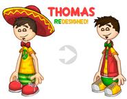 Thomas Redesigned