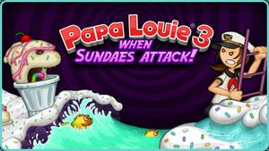 Papa Louie 3 Logo