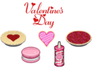 Valentine's Day Ingredients - Bakeria