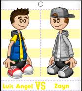 Luis Angel vs Zayn