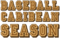 Baseball Caribean Season Logo