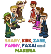 Shary, Kirk, Zane, Fanny, Faxai and Makeria Blog Post