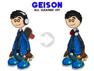 Geison Clean-Up