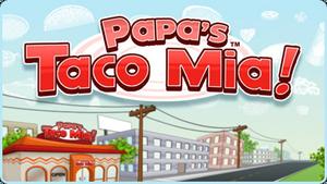 Taco Mia! Logo