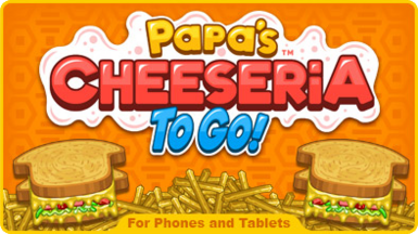 Papa's Cheeseria To Go! MainPage Icon