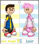 Luis Angel vs Loir