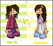 Min Ki vs Cynthia