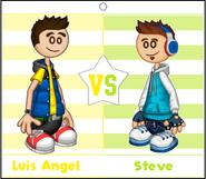 Luis Angel vs Steve