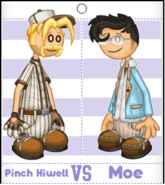 Pinch vs Moe