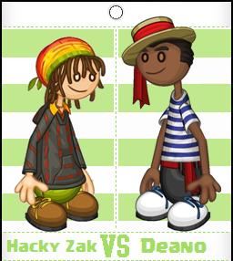 Hacky Zak vs Deano