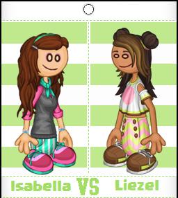 Isabella vs Liezel
