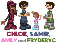 Chloe, Samir, Amily and Fryderyc Blog Post