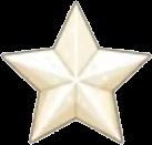 White Chocolate Star