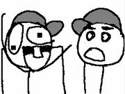 Sheldon And Mr.Randoms go to a baseball game