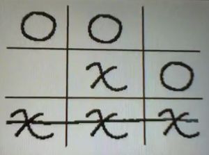 Flipnote Studio Hatena Our Work is Never Over Tic Tac Toe Board