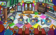 Puffle Party 2015 Pizza