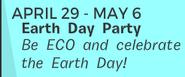 EarthDayParty newspaperann