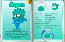 Handbook Aqua Puffle page