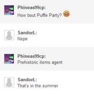 PufflePartyInSummer