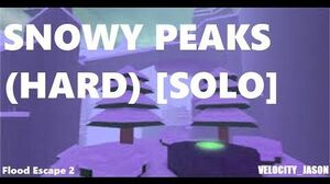 Flood Escape 2 - Snowy Peaks