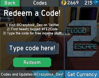 Codes Flood Escape 2 Wiki Fandom