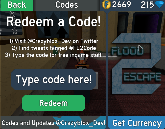 Codes Flood Escape 2 Wiki Fandom