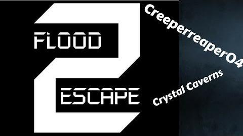 Roblox - Flood Escape 2 Alpha - Crystal Caverns -HARD- -SOLO-