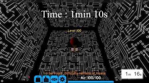 Flood Escape 2 - Dark Sci-Facility 1 10.500 (Solo) OldMap-WR