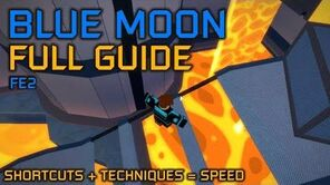 How to beat Blue Moon in FE2- FULL GUIDE - Flood Escape 2