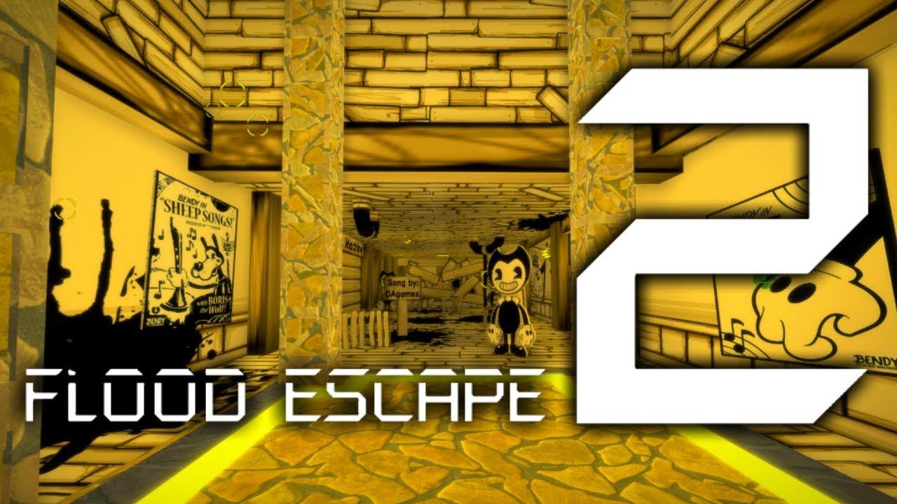 Bendy And The Ink Machine Flood Escape 2 Wiki Fandom