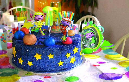 Floogals Project Birthday Cake