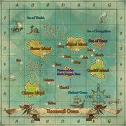 Maps of Hoomanil Ocean