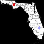 150px-Map of Florida highlighting Calhoun County svg