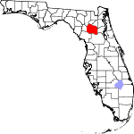 File:150px-Map of Florida highlighting Alachua County svg.png