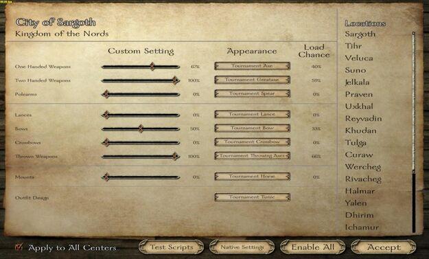 Tournament Design Panel - small