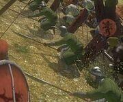 Bracing spears