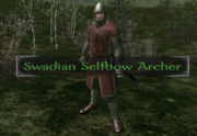 Swadian selfbow archer